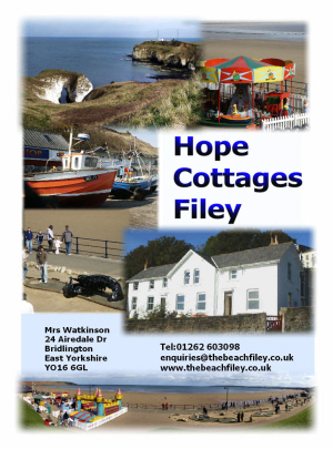 Filey Brochure front cover